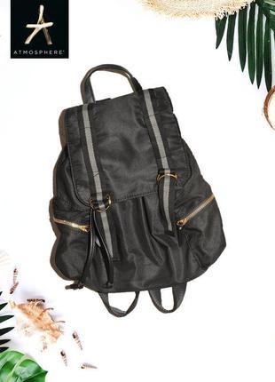 Черный рюкзак из болоньевой ткани atmosphere