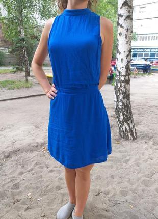 Платье zara сарафан летнее