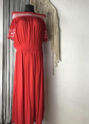 Платье с вышивкой и помпонами на рукавах george! сукня, плаття, сарафан