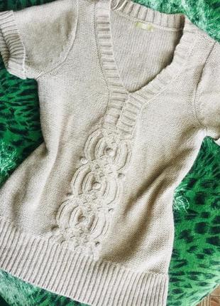 Мягенька жилетка з шерстю альпака
