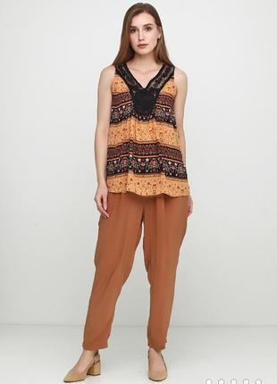 Вискозные легкие летние брюки esmara