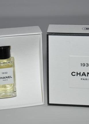 Бутиковая линейка chanel les exclusifs de chanel 1932  мини 4мл