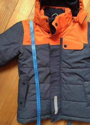 Зимняя куртка play tech 128 рост, 8 лет