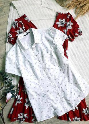 Блуза в цветочный принт atmosphere