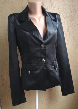 Пиджак атласный 076