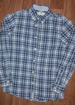 Рубашка h&m мальчик12-13лет