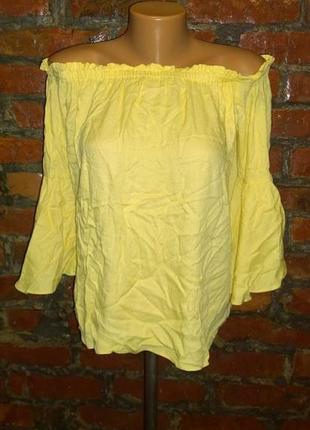 Топ блуза кофточка на плечи f&f