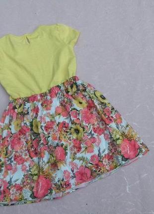 Платье nutmeg 9-10 лет 134-140 см4 фото