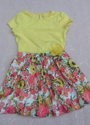 Платье nutmeg 9-10 лет 134-140 см1 фото