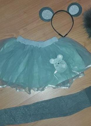 Карнавальный костюм мышка девочке