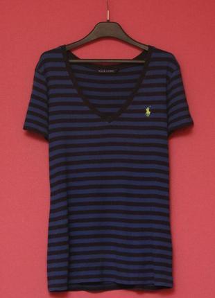 Polo ralph lauren рр xl футболка из хлопка женская