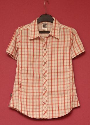 The north face рр s-xs треккинговая рубашка из полиестера и rayon