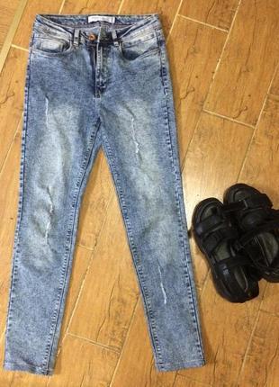 Крутые джинсы варенки вареный деним6 фото