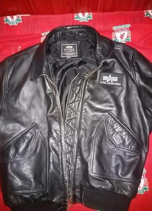 Куртка alpha ind.