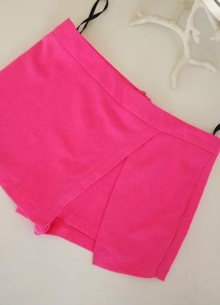 Юбка шорты розовые