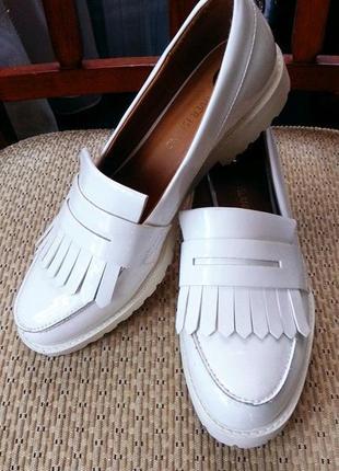 Лаковые туфли-лоферы river island p 38
