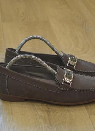 Ara женские туфли лоферы мокасины кожа оригинал германия