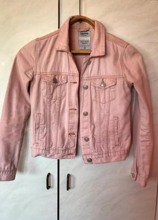Джинсовая куртка cropp