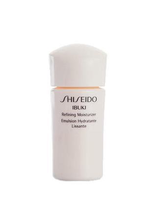 Shiseido ibuki увлажняющая эмульсия против признаков усталости кожи