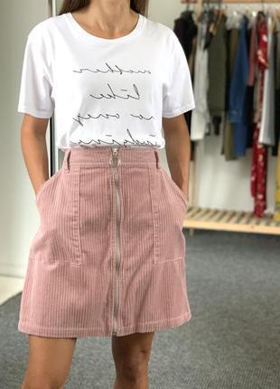 Вельветовая юбка tu 42