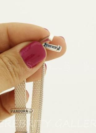 10% скидка подписчику шарм клипса для браслета в стиле пандора серебряный. sr а411 rd4 фото