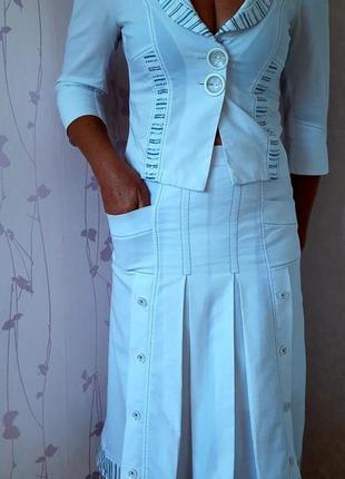 Летний коттоновый костюм