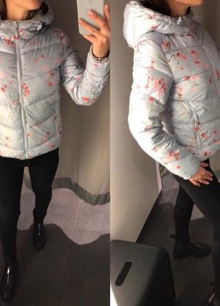 Голубая демисезонная куртка amisu есть размеры