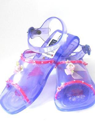 Детские силиконовые босоножки сандалии желейки для девочки ladybird, р.29 код w2914