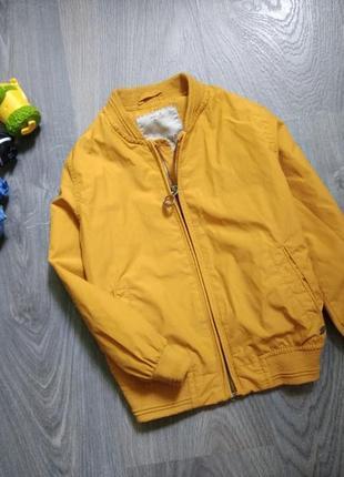4-5л zara бомбер ветровка куртка