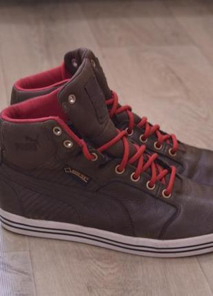 Puma мужские кожаные кроссовки весна осень зима gore-tex