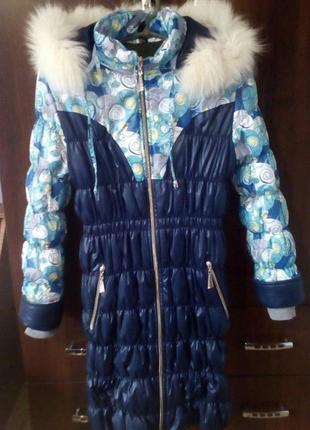 Пальто 8-10лет
