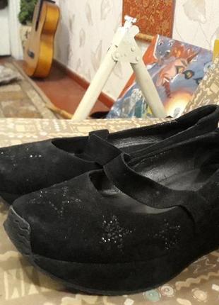 Туфли на платформе vitto rossi