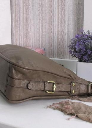 Большая сумка carpisa, италия, натуральная кожа5 фото