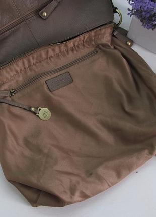 Большая сумка carpisa, италия, натуральная кожа7 фото