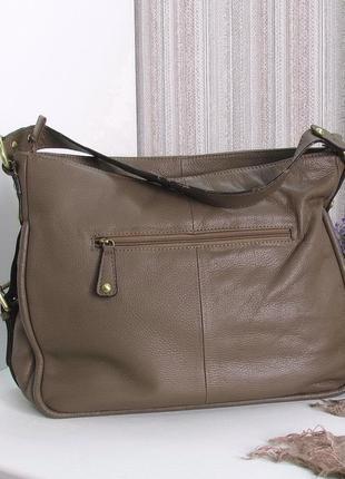 Большая сумка carpisa, италия, натуральная кожа2 фото