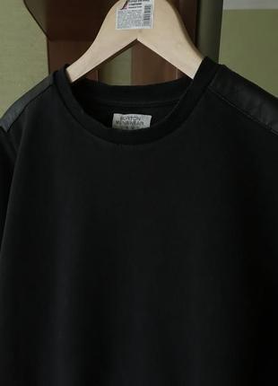 Чёрный мужской свитшот burton