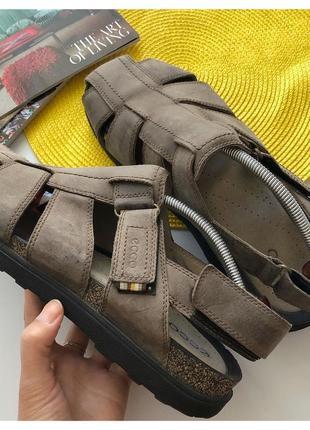 Мужские кожаные сандалии ecco pp 45-46