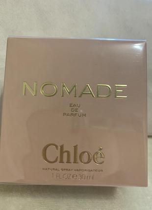 Chloe nomade парфюмерная вода, спрей 30 мл