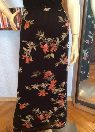 Большой размер, батал, натуральная юбка бренда  ulla popken р. 52/54 (евро 20/22).