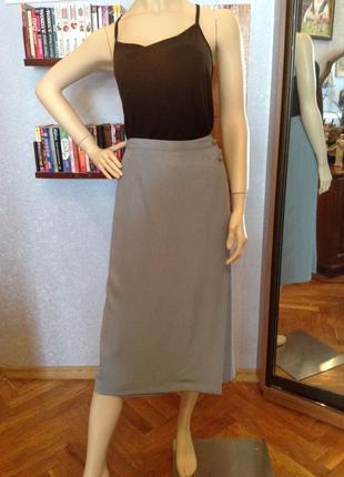 Большой размер, батал, шикарная юбка итальянского бренда isabelle, р.52-54