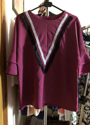 Красивая блузка2 фото