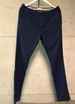 Синие штаны jack & jones