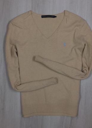 Женский пуловер ralph lauren ральф лорен джемпер кофта легкая
