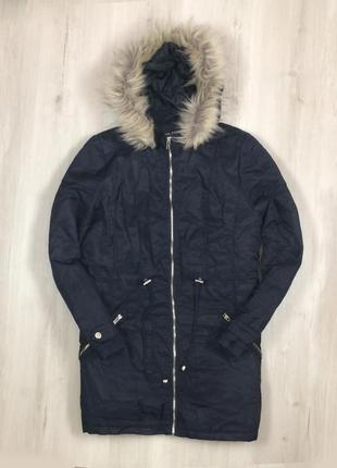 Женская куртка зимняя select удлиненная длинная