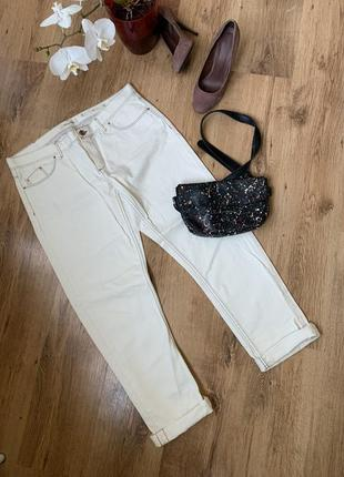 Шикарные фирменные белые джинсы