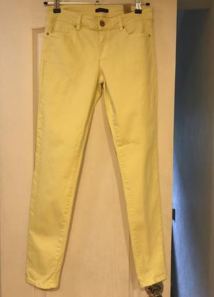 Желтые брюки massimo dutti, 38