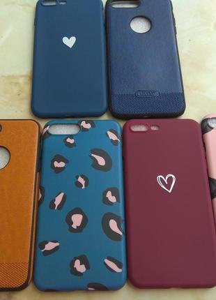 Чехлы силиконовые на iphone