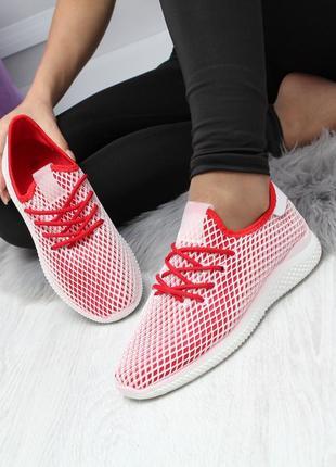 Легкие текстильные кроссовки для прогулок и спорта