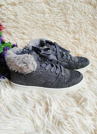 Демисезонные ботинки кеды сникерсы clarks 27 (17,5 см)