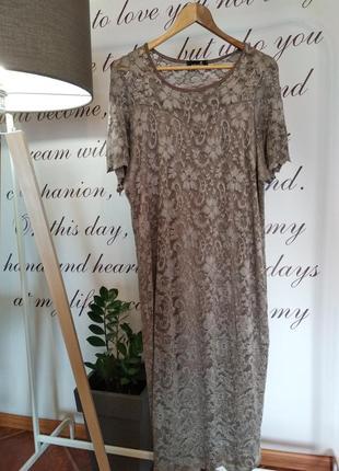 Очень красивое кружевное платье nouvelle collection